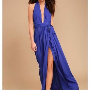 Lululs dress in blue